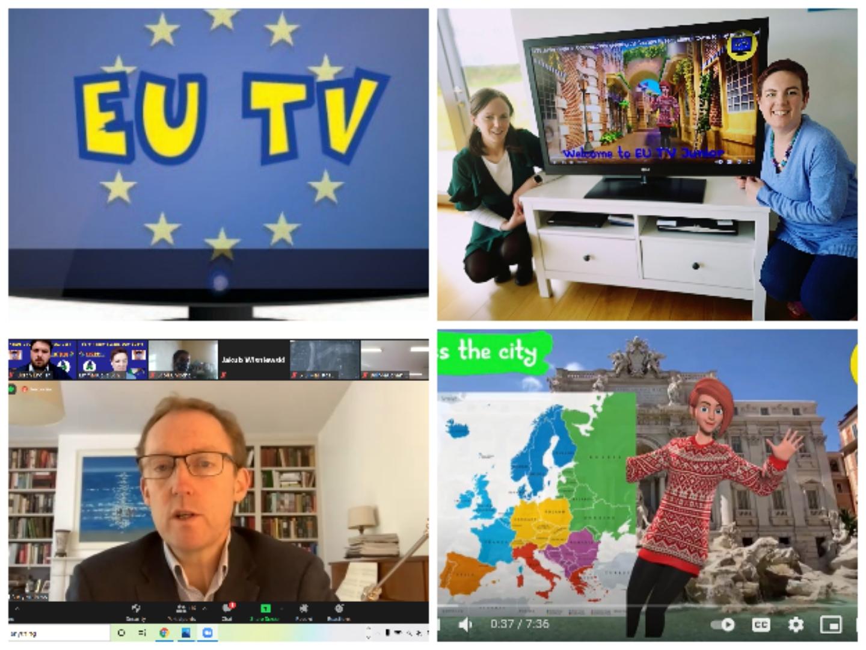 Launch of EU TV Junior in Newstalk Breakfast
